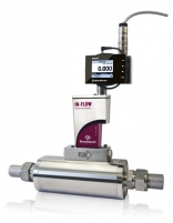 IP65 BRIGHT module mounted on industrial Mass Flow Meter